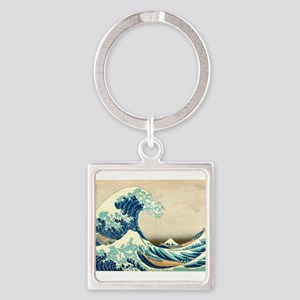 Hokusai Great Wave off Kanagawa Keychains
