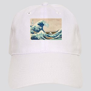 Hokusai Great Wave off Kanagawa Baseball Cap