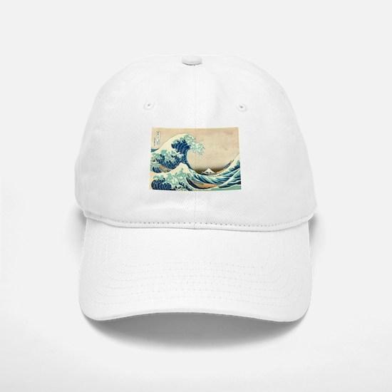 Hokusai Great Wave off Kanagawa Baseball Baseball Baseball Cap