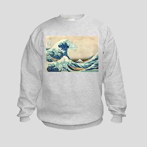Hokusai Great Wave off Kanagawa Sweatshirt
