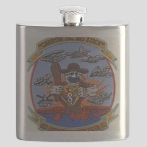 USS THEODORE ROOSEVELT Flask