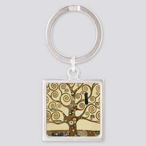 Gustav Klimt Tree of Life Keychains