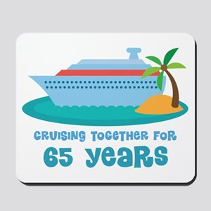 65th Anniversary Cruise Mousepad