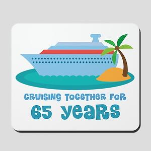 65th Anniversary Cruise Mousepad