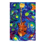Starry Mandolin Postcards (Package of 8)