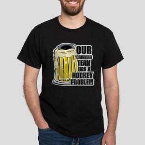 Hockey Drinking Team Dark T-Shirt