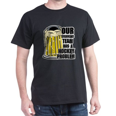 Hockey Drinking Team Dark T-Shirt