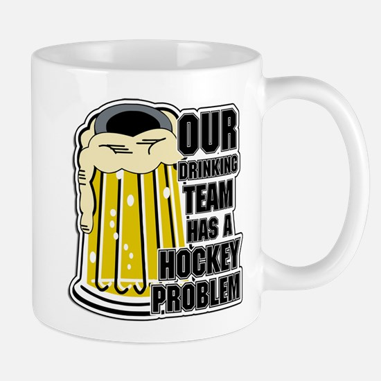 Hockey Drinking Team Mug