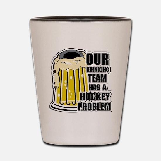 Hockey Drinking Team Shot Glass