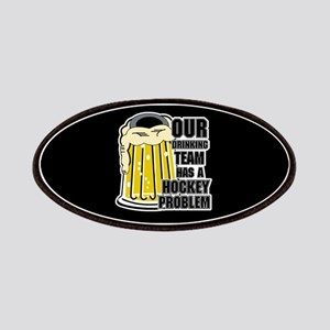 Hockey Drinking Team Patches