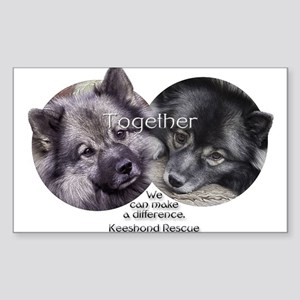 Together We Can Make a Difference Sticker