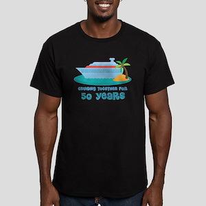 50th Anniversary Cruise Men's Fitted T-Shirt (dark