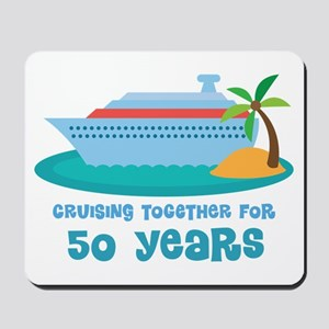50th Anniversary Cruise Mousepad