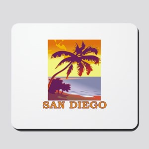 San Diego, California Mousepad