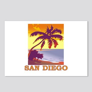 San Diego, California Postcards (Package of 8)