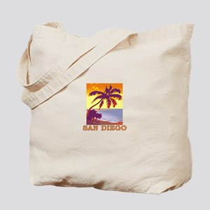 San Diego, California Tote Bag