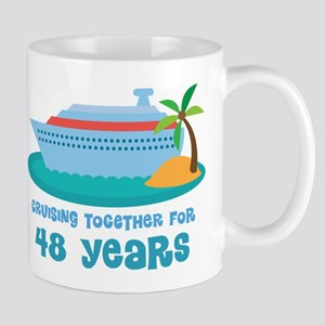 48th Anniversary Cruise Mug