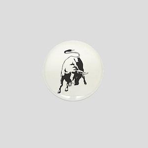 Raging Bull Mini Button