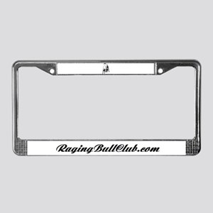Raging Bull License Plate Frame