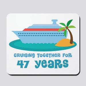 47th Anniversary Cruise Mousepad