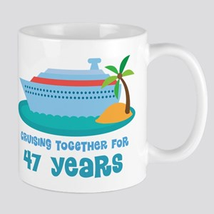 47th Anniversary Cruise Mug