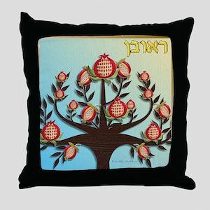 12 Tribes Israel Reuben Throw Pillow