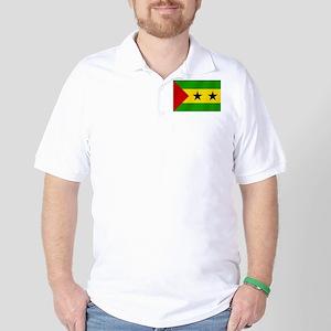 Flag of Sao Tome Golf Shirt