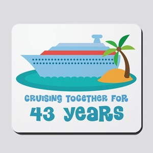 43rd Anniversary Cruise Mousepad