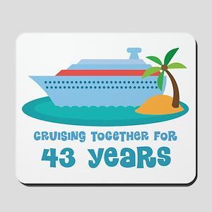 43rd Anniversary Cruise Mousepad