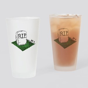 R.I.P. Drinking Glass