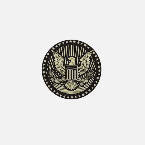 America Mini Button