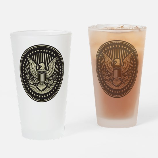 America Drinking Glass