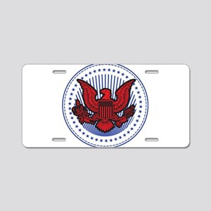 United States Aluminum License Plate
