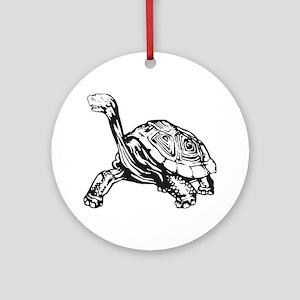 Turtle Ornament (Round)