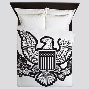 Patriotic Queen Duvet