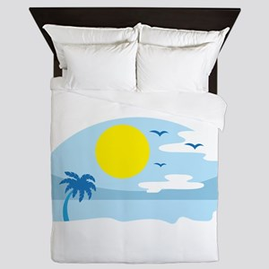 Vacation Queen Duvet