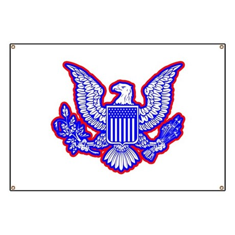 Red White And Blue Eagle Banner By Admincp65475253