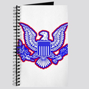 Red, White, and Blue Eagle Journal