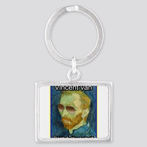 Vincent van Gogh fuck yourself Keychains