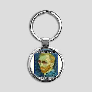 Vincent van Gogh fuck yourself Keychains