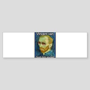 Vincent van Gogh fuck yourself Bumper Sticker
