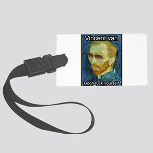 Vincent van Gogh fuck yourself Luggage Tag