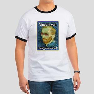 Vincent van Gogh fuck yourself T-Shirt