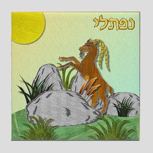 12 Tribes Israel Naphtali Tile Coaster
