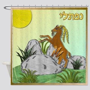 12 Tribes Israel Naphtali Shower Curtain