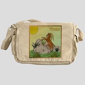 12 Tribes Israel Naphtali Messenger Bag