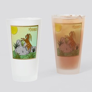 12 Tribes Israel Naphtali Drinking Glass