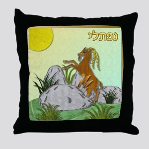 12 Tribes Israel Naphtali Throw Pillow