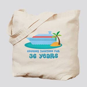36th Anniversary Cruise Tote Bag