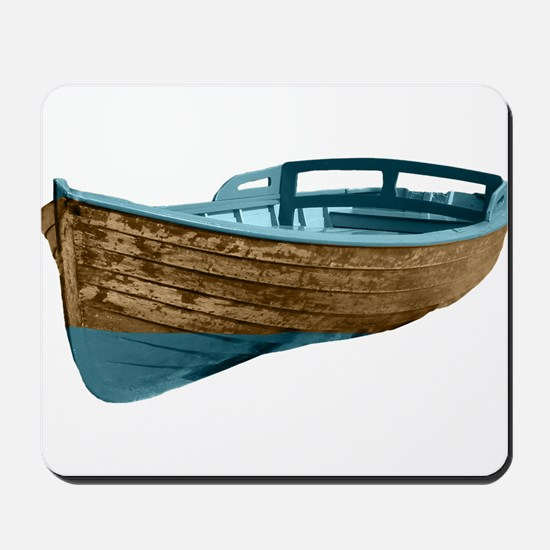 Wooden Boat Mousepad